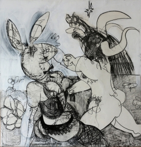 zbunny and beast-drawing